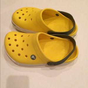 Crocs iconic clogs. Size Junior 3, GUC